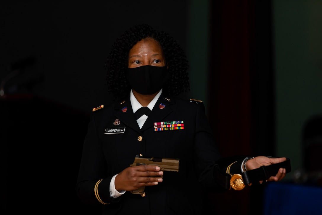 U.S. Army Reserve Brig. Robert Powell Jr. was promoted during a ceremony at Fort Gordon, Georgia, Dec. 15, 2020. With the promotion, Powell will serve as the 335th Signal Command (Theater) deputy commanding general, cyber.