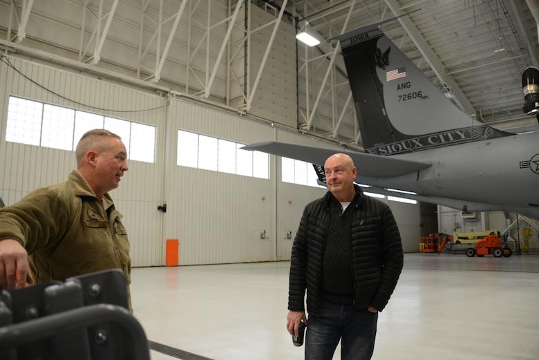 Brig. Gen. Larry Christensen and Col. (ret.) Scott Plambeck  F-16 pilots