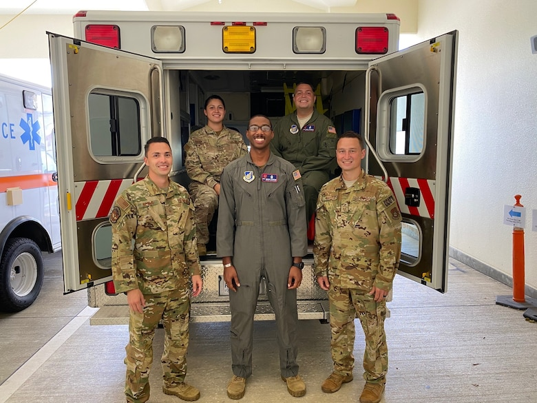 Group photo of 18th MDG Critical Care Air Transport Team