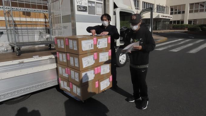 COVID-19 vaccines arrive at Naval Hospital Yokosuka