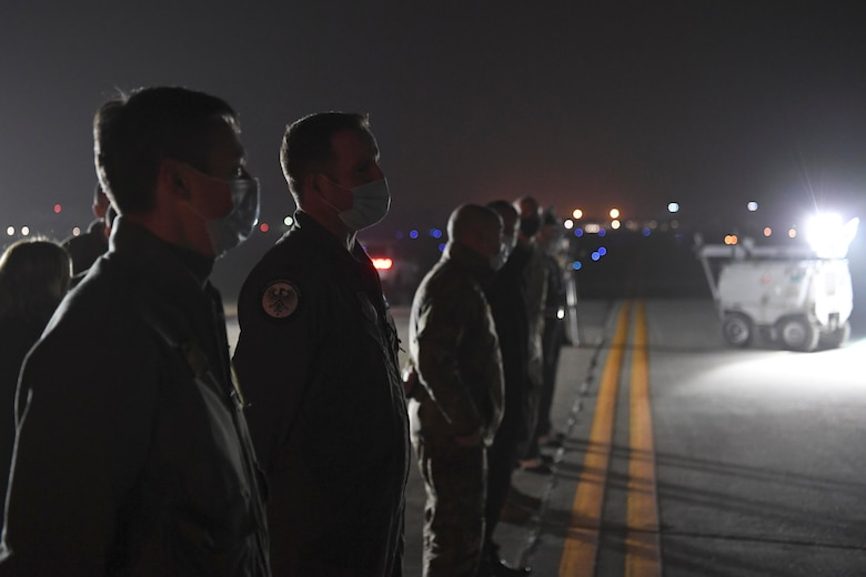 During their visit, they connected with Airmen and toured Aviano Air Base to emphasize the importance of the 31st Fighter Wing's mission.