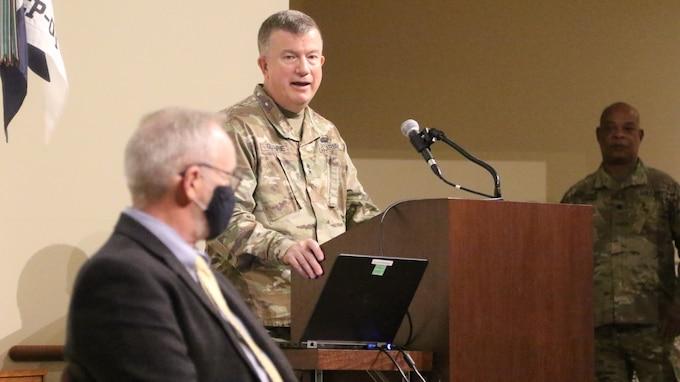Col. Kelly McNeese Retirement Ceremony