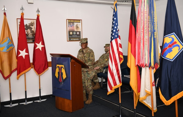 7th Mission Support Command Assumption of Command Ceremony