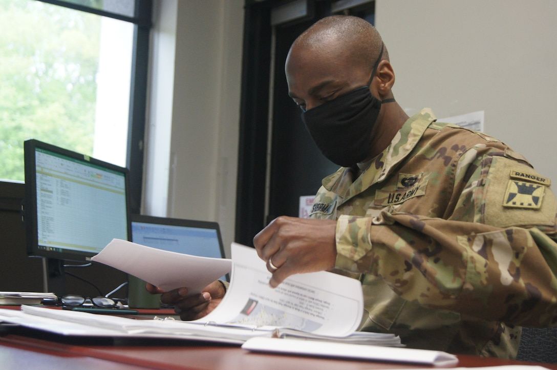 416th Theater Engineer Command answering call to serve during COVID-19 pandemic