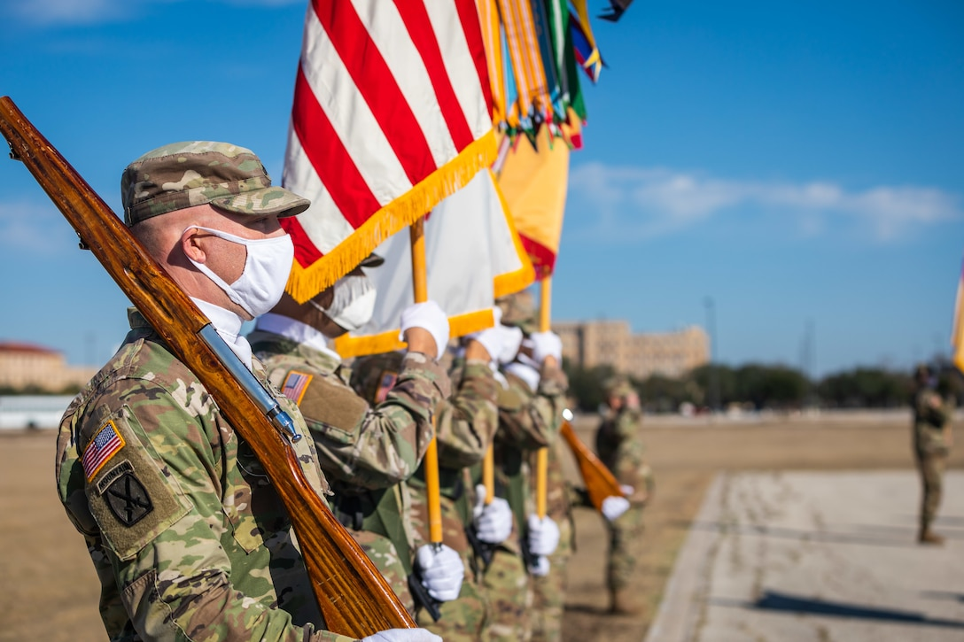 4th Sustainment Command (Expeditionary) Change of Command 2020
