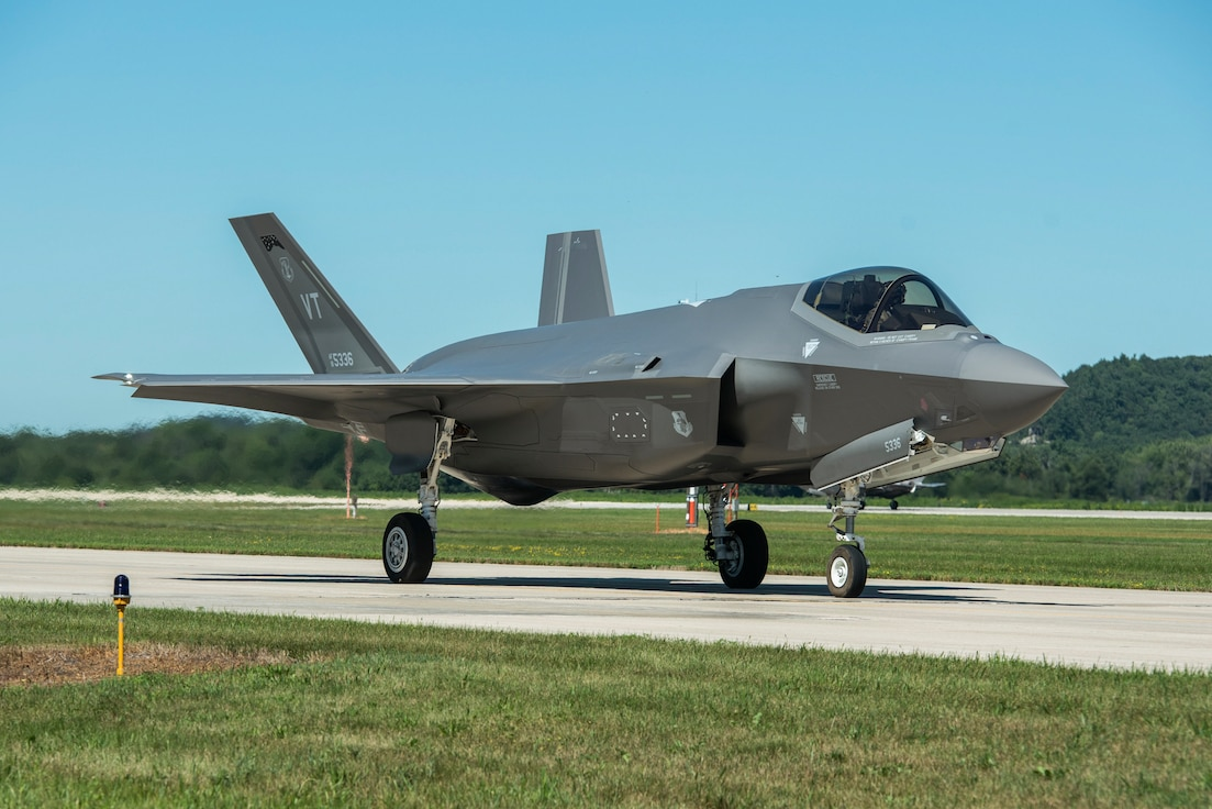 Airmen and officers assigned to the 115th Fighter Wing volunteered to participate in off-base training for the F-35 Lightning II conversion that began in December 2020.