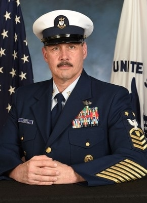 Photo of Command Master Chief Tim Beard