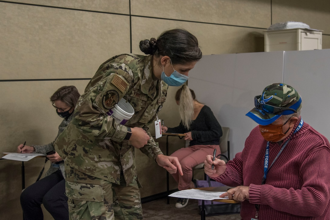 The Department of Defense is conducting a coordinated vaccine distribution strategy that will strengthen the ability to protect people, maintain readiness, support the national COVID-19 response, and trust in safe and effective vaccines and a vaccination plan.