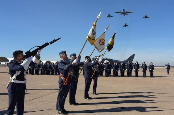 The Spanish Air Force celebrate its 100-year milestone with military and aerial parades. (Courtesy photo)