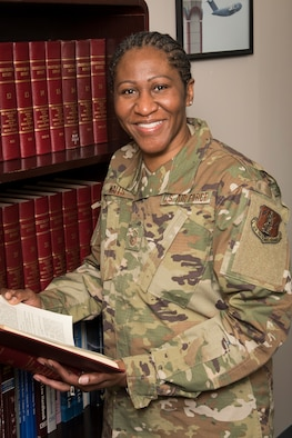 Master Sgt. Sonia Walls is a paralegal for the 167th Airlift Wing's legal office and the 167th Airlift Wing Airman Spotlight for February 2020.