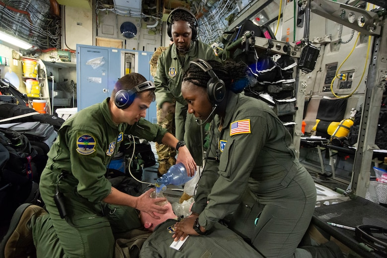 Humanitarian mission helps those in need while providing training for AE, aircrew