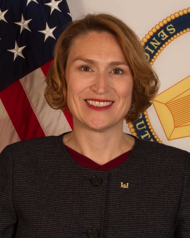 Ms. Sally G. Pfenning was selected for Senior Executive Service in September 2018, as the Chief of Installation Support Division for US Army Corps of Engineers (USACE).  In this position she works to provide solutions in support of America's Installations by expanding the technical expertise of members of the DoD engineering community and effectively applying USACE capabilities, contract capacities and other tools required to operate, maintain, sustain, restore and modernize America's military infrastructure and real property assets. She is responsible for public works engineering technical expertise and guidance throughout USACE. She works collaboratively with the Office of the Assistant Secretary Army-Installations Energy and Environment and the Office of the Assistant Chief of Staff of the Army for Installation Management; Army land holding commands and Installation Management Command (IMCOM) senior leadership to develop and implement USACE installation engineering support policy and doctrine.