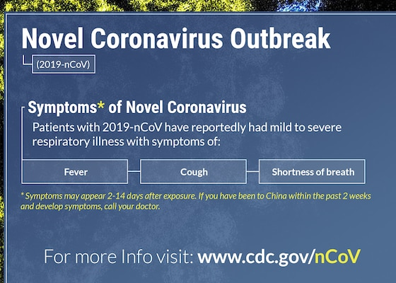 The U.S. government and international partners are working closely to monitor an outbreak caused by a new coronavirus first identified in Wuhan City in China's Hubei province.