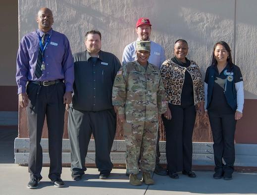 DeCA senior enlisted advisor visits Holloman