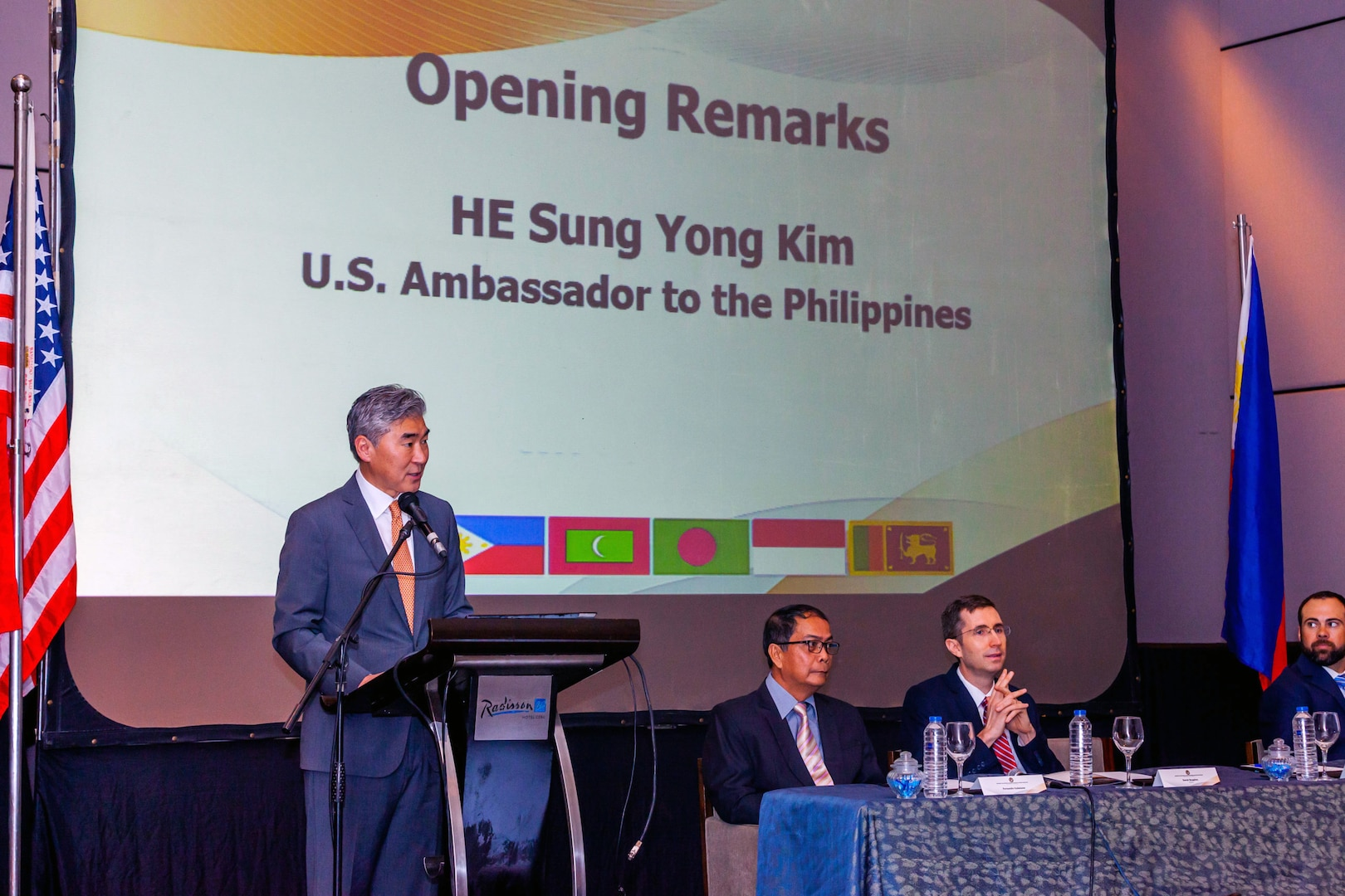 U.S.-Sponsored, Philippines-Hosted South East Asia Counterterrorism Experts Conference