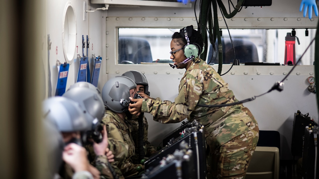 The aerospace and operational physiology unit at JBSA-Randolph sees over 5,000 student come through its doors every year with the purpose of learning how to combat the physiological dangers of flying such as hypoxia and spatial disorientation.