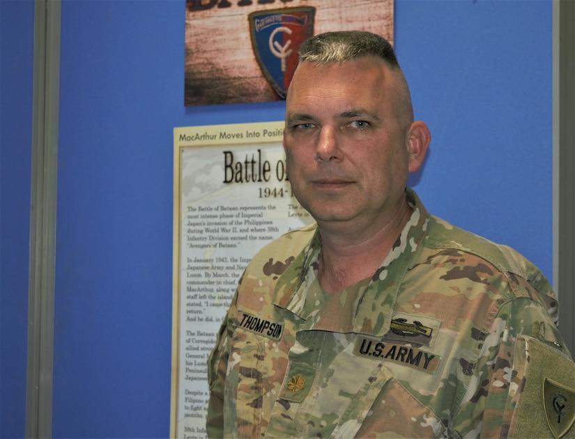Indiana National Guard Maj. Lynn Thompson