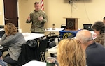 Aviation commander speaks to local Rotarians