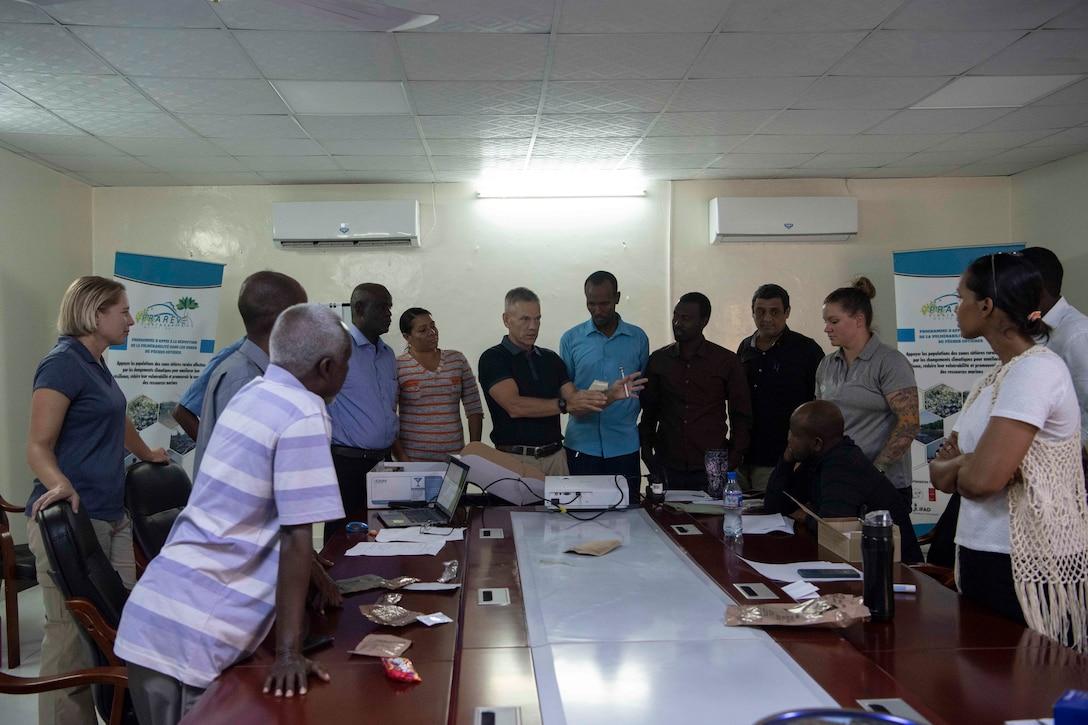 Civil Affairs Soldiers host seminar for Djiboutian veterinarians and sanitary inspectors