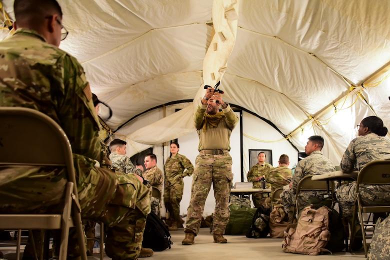 Airmen receive SABC training