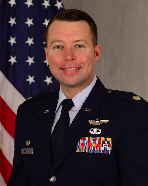 """Lt. Col. Trent Brower, 47th Operations Support Squadron commander, shares his take on assignments, and what truly makes a duty station memorable. """"There is no one single location my family and I can say is our favorite throughout our 16-year career,"""" Brower said. """"A reason for this is because it has never been about locations, but rather the people and relationships built during our time at various bases."""" (U.S. Air Force photo by Senior Airman Anne McCready)"""