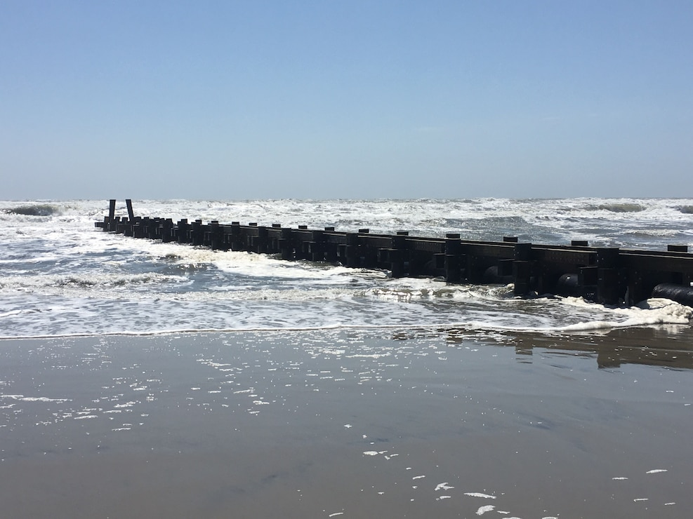 The initial construction of the Absecon Island project involved the construction of a stormwater management system in Margate with 5 ocean outfal