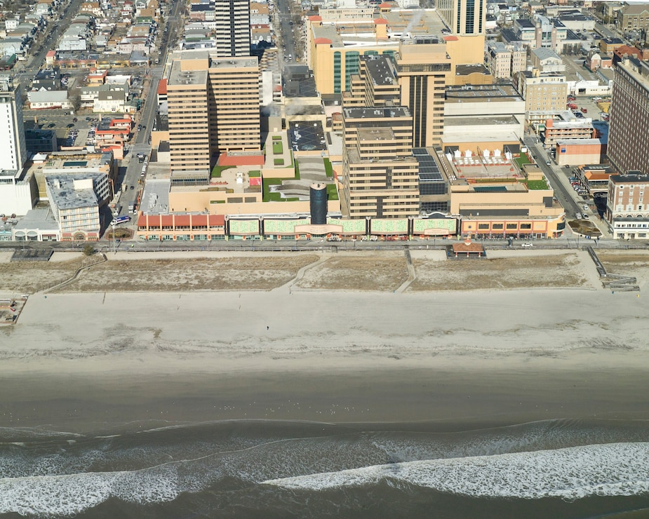 The Absecon Island project features include a dune and berm system that is designed to reduce the risk of storm damages to infrastructure and property.