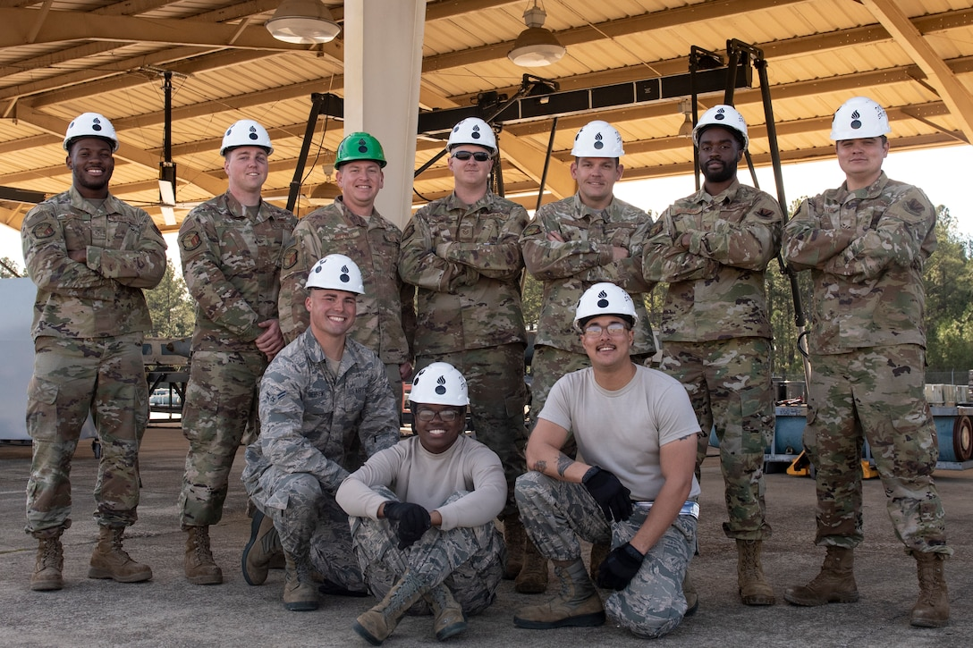 A photo of the Shaw AFCOCOMP team.