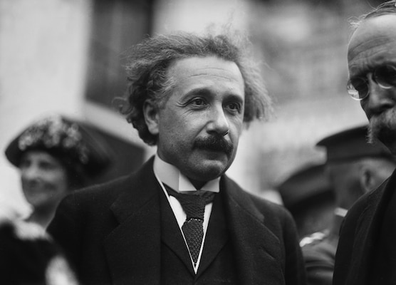Albert Einstein, Washington, DC, ca. 1921–1923 (Library of Congress/Harris & Ewing)