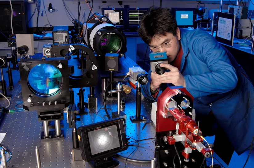 Army Research Laboratory's electronics program seeks to generate knowledge of electromagnetic, photonic, and acoustic devices, systems, and phenomena to provide technological superiority to Army's future force (Army Research Laboratory)