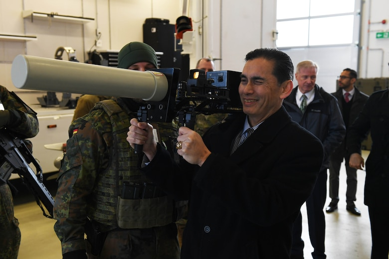 Asst. SecDef for Strategy, Plans and Capabilities visits 702nd MUNSS