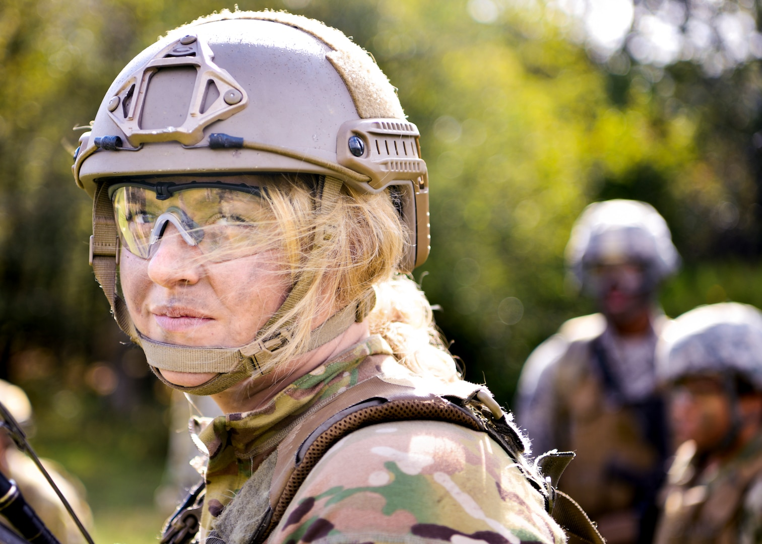 Airman participates in Security Forces Sustainment training at Baumholder, Germany, October 10, 2019 (U.S. Air Force/Deven Schultz)