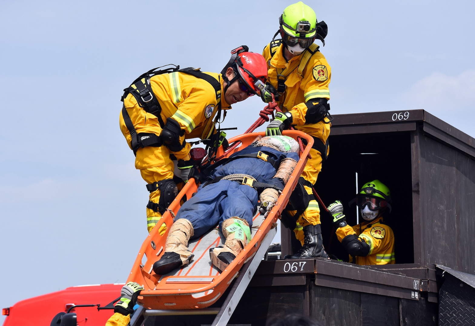 USAG Japan Fire Department Named Best Large Department in Pacific, Again