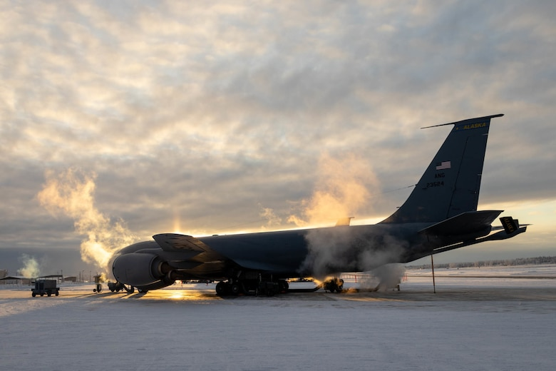 Airmen experience what it takes to keep the KC-135R Stratotanker in a 'ready state' in sub-zero temperatures