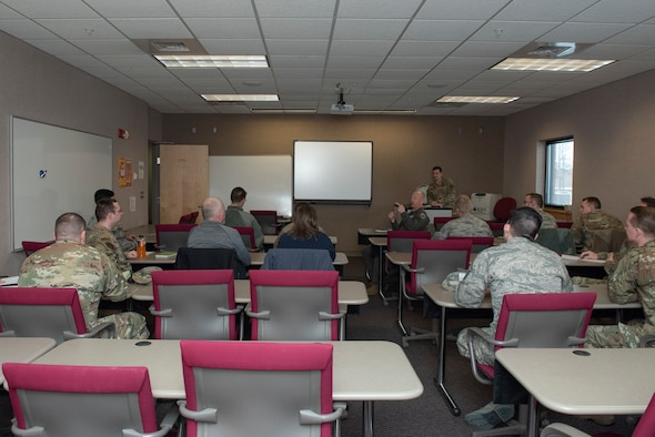 The forum gave Airmen an opportunity to voice their ideas for improving their respective units and the base.