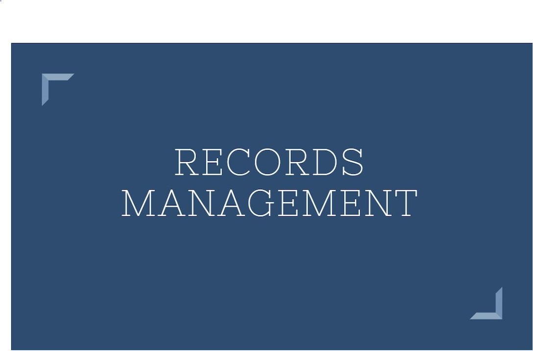 Graphic image Records management