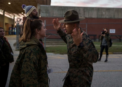 6MCD hosted the Educators Workshop on Marine Corps Recruit Depot Parris Island, South Carolina, between Jan. 28 2020 to Jan. 31, 2020. These educators traveled from Recruiting Station Baton Rouge and Fort Lauderdale to experience the Educators Workshop. The workshop allows educators to have an inside look at educational benefits and career opportunities in the Marine Corps.