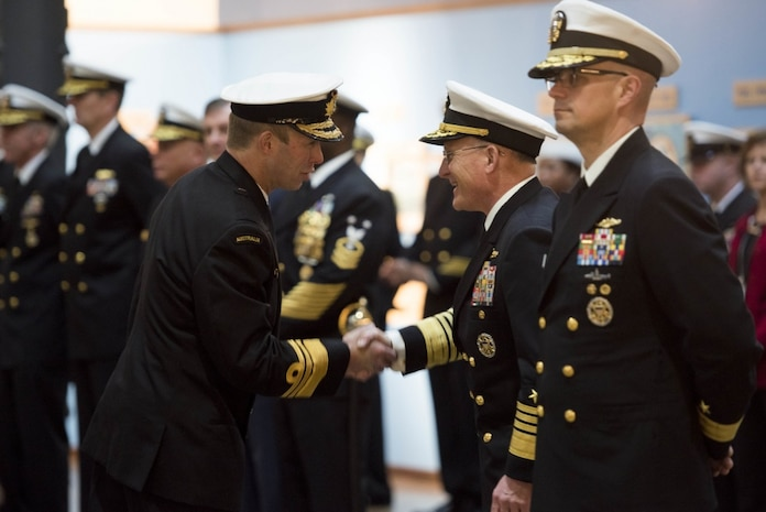 Chief of Naval Operations Hosts Chief of Royal Australian Navy for Counterpart Visit