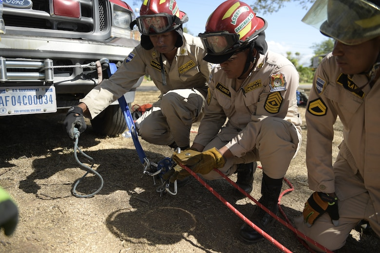 Central American, US firefighters grow competencies, partnerships