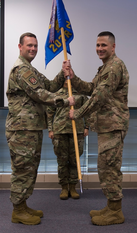 202nd REDHORSE veteran proudly assumes command