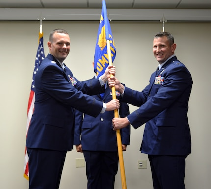 "New commander is ""fired up"" to lead 125 CF"