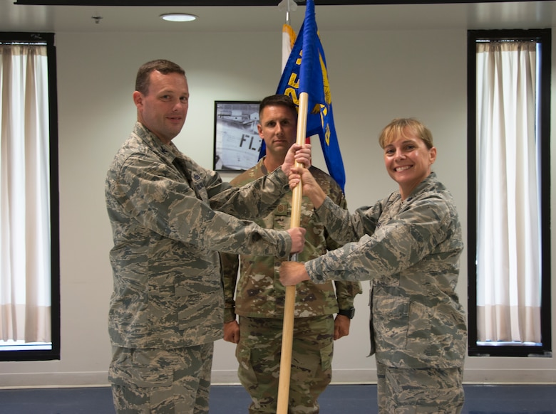 125th FSS change of command