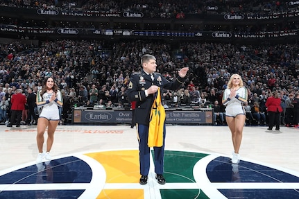 Jazz Vet of the Game - Honorary Recognition of SFC Sandberg