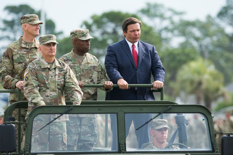 Florida National Guard welcomes new adjutant general