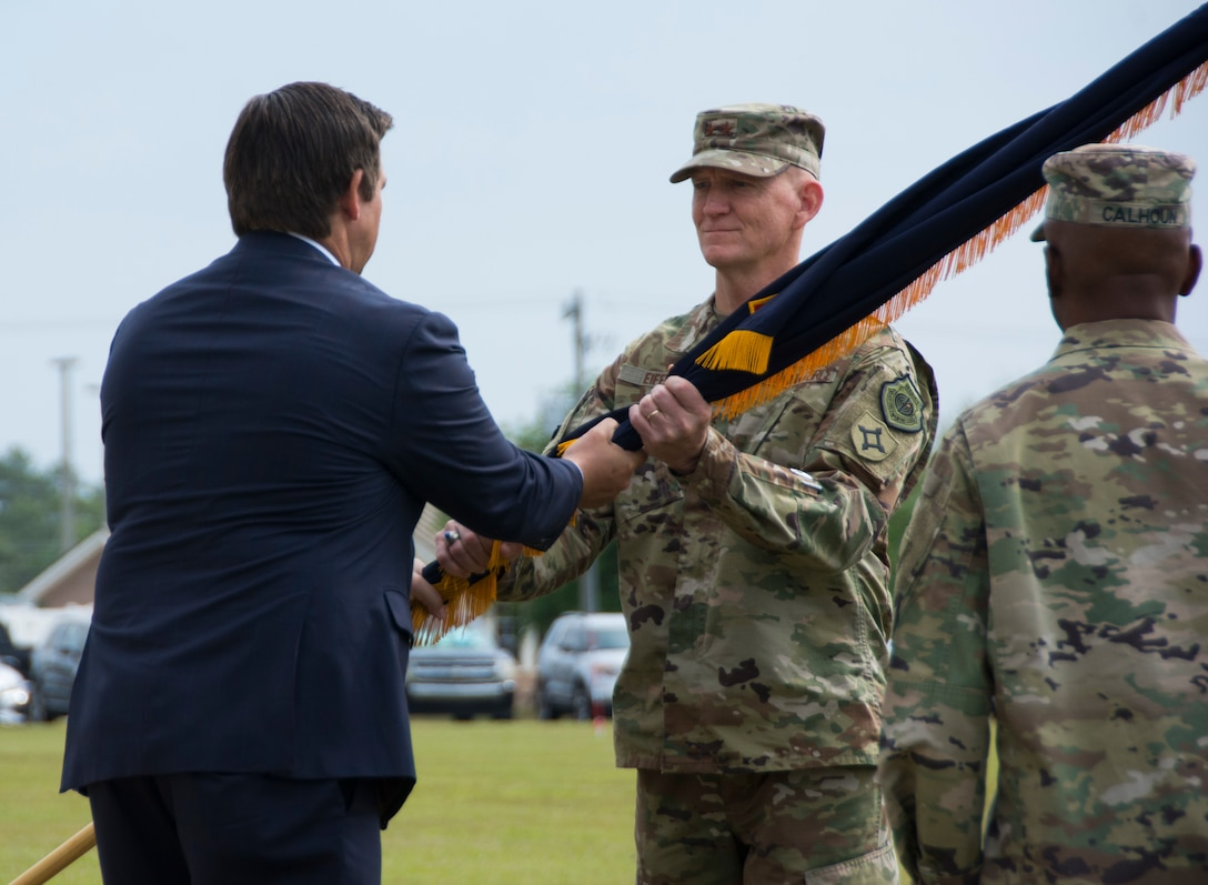Florida National Guard welcomes new adjutant general