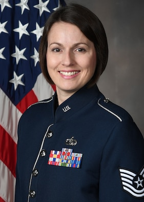 Official Photo of TSgt Joanne Griffin