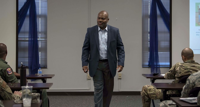 AFRC diversity chief speaks at 315 AW