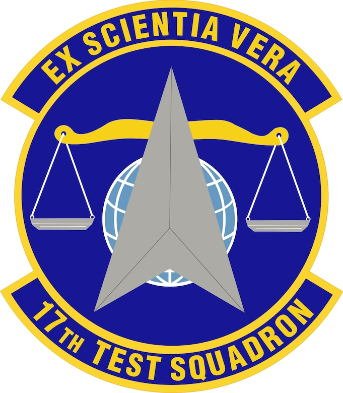 The 17th Test Squadron is a space-focused operational test and evaluation unit that delivers validated warfighting capabilities and ensures an independent assessment of space systems' performance. The 17th TS is headquartered at Schriever Air Force Base and has detachments and operating locations spread throughout different bases. (U.S. Air Force Courtesy Graphic)