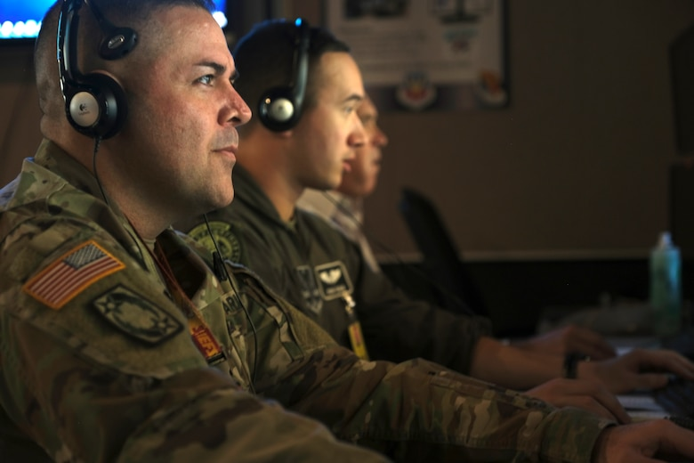Hosted by the 705th Combat Training Squadron at Kirtland AFB, NM, members of the US Army refine their skills  during exercise Virtual Flag 20-1.