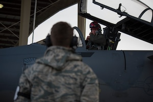 ORANG Fighter Pilot is first in world to fly F-15 Eagle with a cervical prosthetic disc
